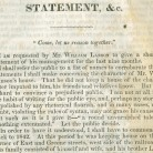 Isaiah Lanson's Statement and Inquiry: Concerning the Trial of William Lanson, Before the New Haven County Court, November Session, 1845