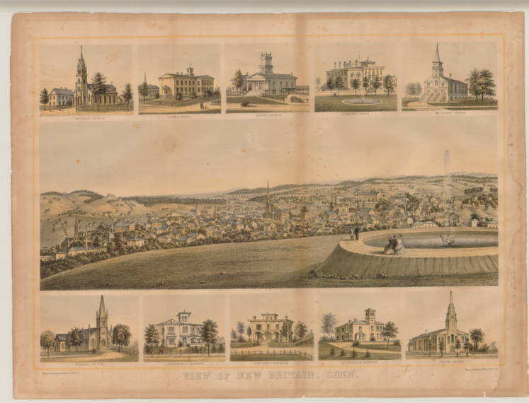 View of New Britain, Conn.