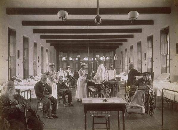 New Haven Hospital ward