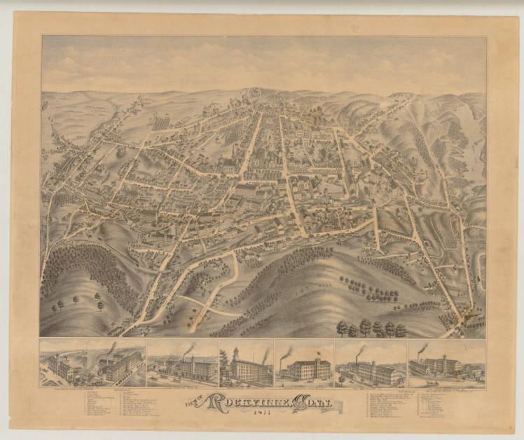 View of Rockville, Conn