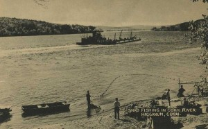Shad fishing on the Connecticut River