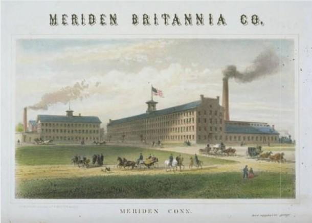 Meriden Britannia Company, West Main Street, Meriden