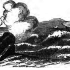 Drawing from Remarkable Apparitions, and Ghost-Stories, 1849