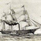 First steamship to cross the Atlantic, SS Savannah