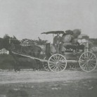 Peddler and cart, ca. 1900