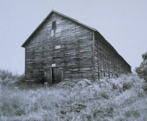 Tobacco barn, East Granby