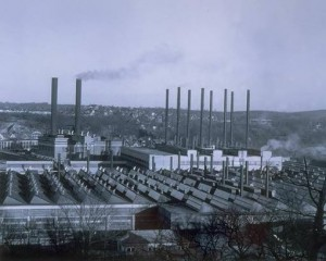 Scovill factory buildings, Waterbury