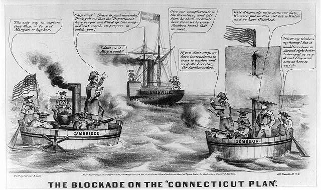 "The Blockade on the ""Connecticut Plan"""