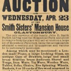 The Smith Sisters' household goods at auction
