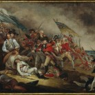 John Trumbull, The Death of General Warren at the Battle of Bunker's Hill, June 17,1775