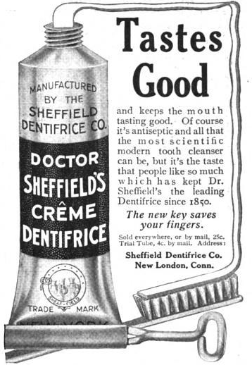 Dr. Sheffield's Creme Dentifrice