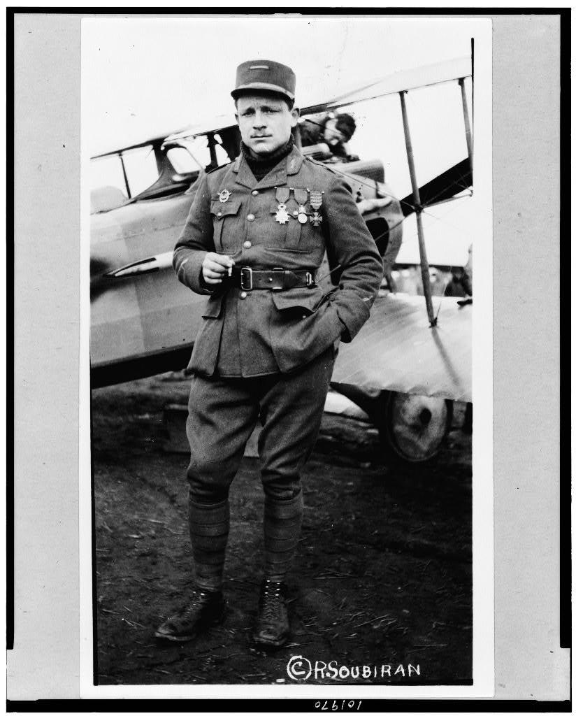 Lafayette Escadrille, Lt. Raoul Lufbury
