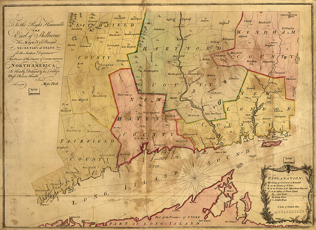 Colony of Connecticut in North-America