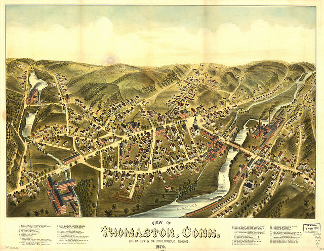 View of Thomaston, Conn. 1879