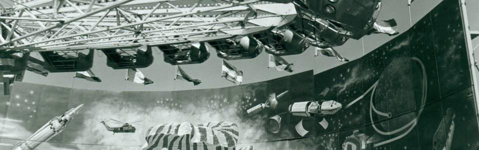 Detail from Rocket Ride, Danbury Fair, 1975