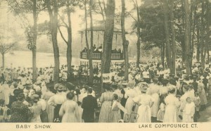 Baby Show, Lake Compounce, ca. 1900-1910