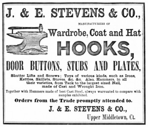 J. & E. Stevens advertisement, ca. 1851