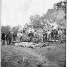 Burial of Unoin soldiers, Fredericksburg, VA, 1864