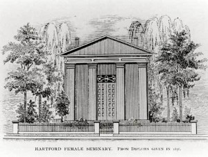 Hartford Female Seminary, 1856