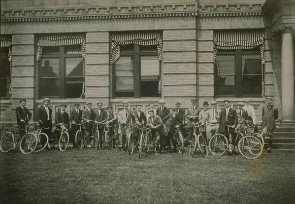 Bicycle club, Pope Manufacturing Company, Hartford