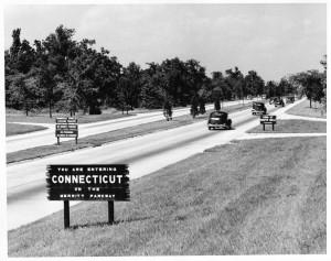 Merritt Parkway, King Street, Greenwich, ca. 1940