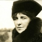 Theodate Pope Riddle, taken shortly after her survival of the sinking of the Lusitania
