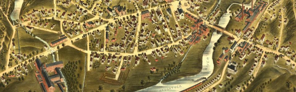 View of Thomaston, Conn. 1879