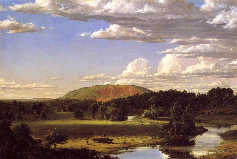 Frederic E. Church, West Rock