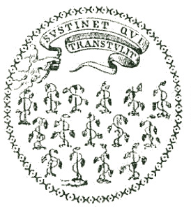 Original seal of the colony of Connecticut, 1639-1687