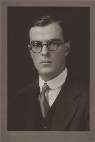 Yale graduation photograph of Thornton Wilder