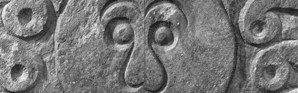 Gershom Bartlett, Winged face, 1788, Granite, Vermont