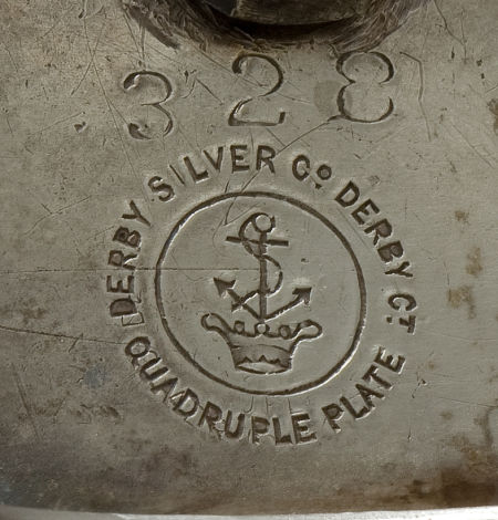 Derby Silver Company mark, ca. 1875