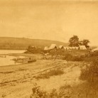 Camping at Point Beautiful on Lake Waramaug, New Preston, ca. 1870s