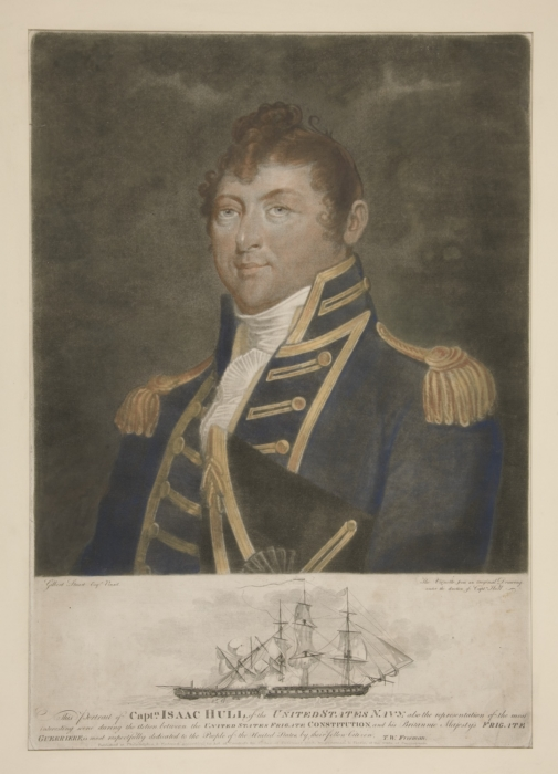 Portrait of Capt.n Isaac Hull