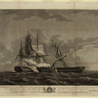 U.S. Frigate Constitution, Isaac Hull, Esqr., commander