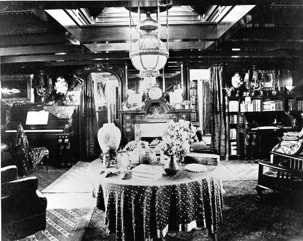 The saloon of the Eleanor