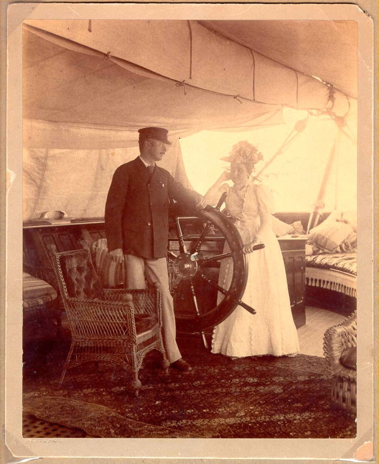 William and Ellen Slater on the Eleanor