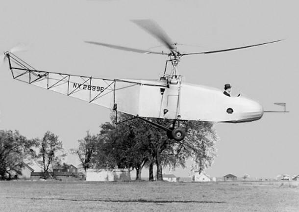 Igor Sikorsky in the VS-300