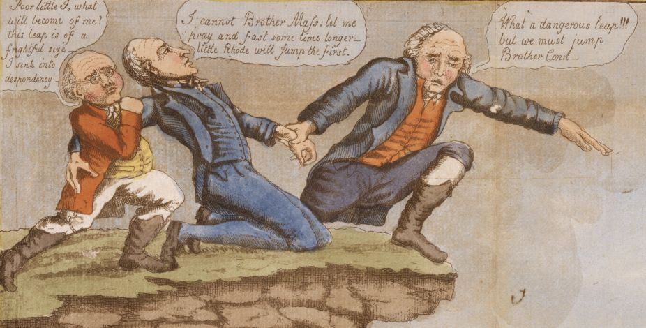 The Hartford Convention or Leap no Leap | ConnecticutHistory.org