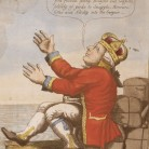 Detail of the lower right hand corner from The Hartford Convention or Leap no leap by William Charles, ca. 1814
