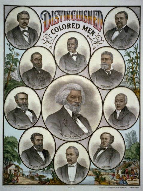 Distinguished Colored Men, A. Muller & Co