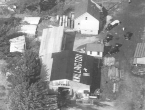 Detail from Willington, 1938 aerial survey