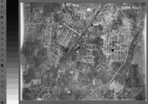West Hartford, 1934 aerial survey