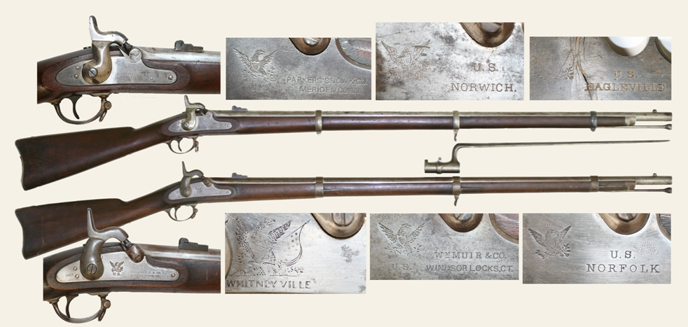 Connecticut Rifle Muskets