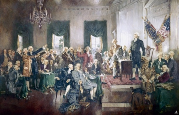Howard Chandler Christy, Signing of the Constitution