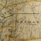 Detail of Bethany from Town and city atlas of the State of Connecticut