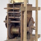 Eight-day weight-powered wood movement, Eli Terry, Plymouth