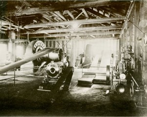 Interior of the Oil City plant