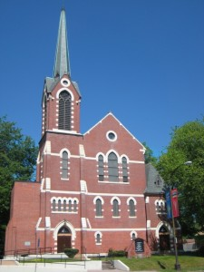 Metropolitan AME Zion Church, 2051 Main Street, Hartford