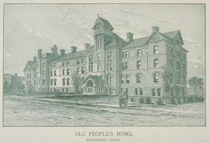 Old People's Home, Hartford, 1890-1900 - Connecticut Historical Society and Connecticut History Online